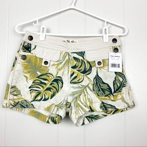 Free People | Tropical Printed Shorts Size 24